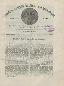 Globus. Illustrierte Zeitschrift für Länder...Bd. XLIX, Nr.20, 1886