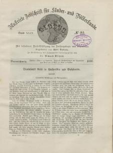 Globus. Illustrierte Zeitschrift für Länder...Bd. XLIX, Nr.22, 1886