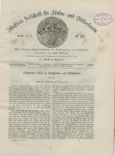 Globus. Illustrierte Zeitschrift für Länder...Bd. XLIX, Nr.23, 1886