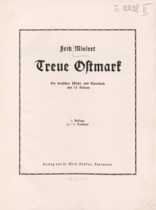 Treue Ostmark […]