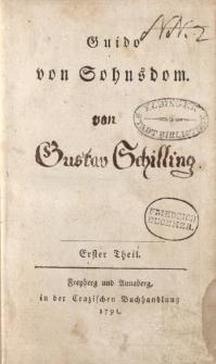 Guido von Sohnsdom. Erster Theil