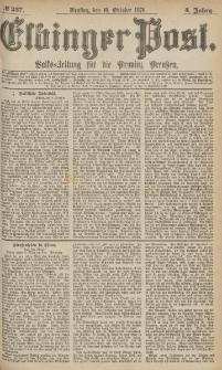 Elbinger Post, Nr.237 Dienstag 10 October 1876, 3 Jh