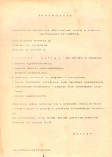 Informacja Wojewódzka Budowlana Spółdzielnia Pracy w Elblągu - druk