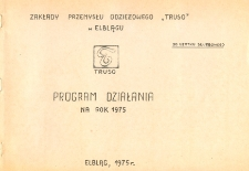 Program działania na rok 1975 - broszura