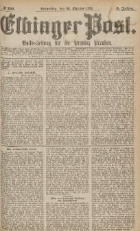 Elbinger Post, Nr.251 Donnerstag 26 October 1876, 3 Jh