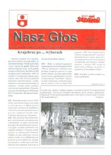 """Nasz Głos. Biuletyn Informacyjny NSZZ """"Solidarność"""" Regionu Elbląskiego, 1998, nr 10"""