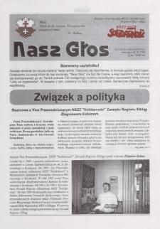 """Nasz Głos. Biuletyn Informacyjny NSZZ """"Solidarność"""" Regionu Elbląskiego, 1999, nr 7"""