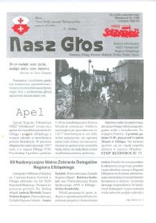 """Nasz Głos. Biuletyn Informacyjny NSZZ """"Solidarność"""" Regionu Elbląskiego, 1999, nr 11"""