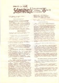 """Biuletyn Regionu Elbląskiego """"Solidarnosć"""", 1986, nr 18 [wydanie powielaczowe]"""