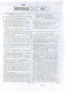 """Biuletyn Regionu Elbląskiego """"Solidarnosć"""", 1987, nr 24 [wydanie powielaczowe]"""
