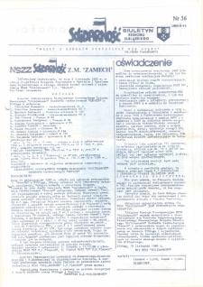 """Biuletyn Regionu Elbląskiego """"Solidarnosć"""", 1988, nr 36 [wydanie powielaczowe]"""