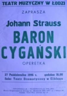 Baron Cygański : operetka - Johann Strauss