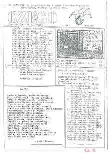 1990-05, Czego - Elbląska Gazetka Satyryczna, Nr 1 (1) 1990 [wydanie powielaczowe]