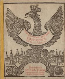 Neuer und Alter Kunst- und Tugend- Calender auff das 1716. Jahr Chirsti. Worinnen gantz gewisse Dinge, von dem Lauffe der Sonnen, Monds, und dessen Vierteln vorher gesaget; auch ungewisse von der zukünfftigen Witter- und Veränderung der Lufft [...]