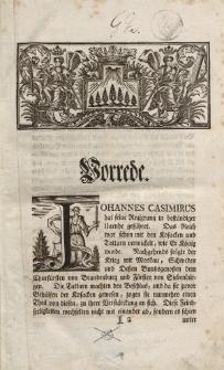 Geschichte der preussischen Lande koeniglich-polnischen Antheils unter der Regierung Johannis Casimiri aus geschriebenen Nachrichten zusammen getragen und mit gehoerigen Urkunden versehen.