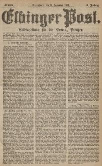 Elbinger Post, Nr.289 Sonnabend 9 Dezember 1876, 3 Jh