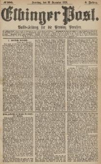 Elbinger Post, Nr.290 Sonntag 10 Dezember 1876, 3 Jh