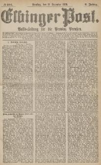 Elbinger Post, Nr.291 Dienstag 12 Dezember 1876, 3 Jh1