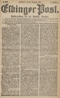 Elbinger Post, Nr.298 Mittwoch 20 Dezember 1876, 3 Jh