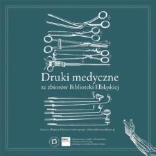 Druki medyczne ze zbiorów Biblioteki Elbląskiej