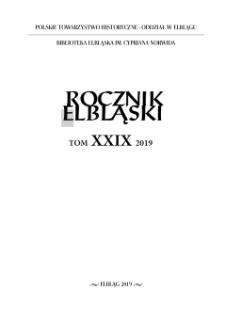 Rocznik Elbląski, T. 29