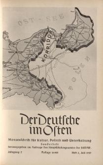 Der Deutsche im Osten. Monatschrift für Kultur, Politik und Unterhaltung, Jahrgang 2, Heft 5