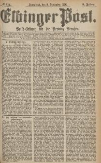 Elbinger Post, Nr.211 Sonnabend 9 September 1876, 3 Jh
