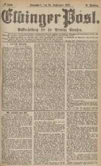 Elbinger Post, Nr.223 Sonnabend 23 September 1876, 3 Jh