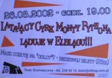 Latający cyrk Monty Pythona ląduje w Elblągu !!!