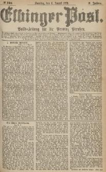 Elbinger Post, Nr.182 Sonntag 6 August 1876, 3 Jh