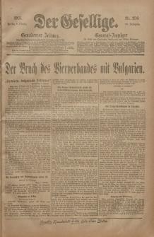 Der Gesellige, Nr. 236, Freitag, 8. Oktober 1915