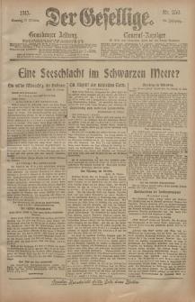 Der Gesellige, Nr. 256, Sonntag, 31. Oktober 1915