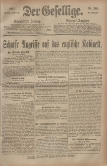 Der Gesellige, Nr. 268, Sonntag, 14. November 1915