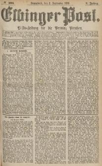 Elbinger Post, Nr.205 Sonnabend 2 September 1876, 3 Jh