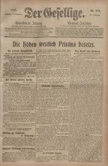 Der Gesellige, Nr. 279, Sonntag, 28. November 1915