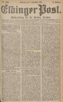 Elbinger Post, Nr.206 Sonntag 3 September 1876, 3 Jh