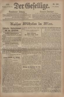 Der Gesellige, Nr. 280, Dienstag, 30. November 1915