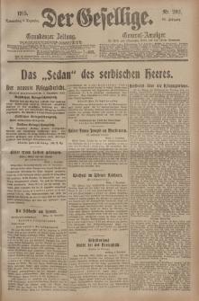 Der Gesellige, Nr. 282, Donnerstag, 2. Dezember 1915