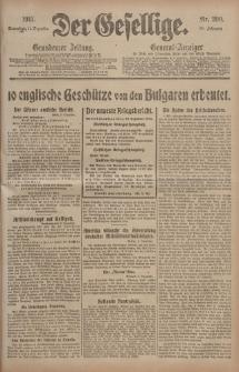 Der Gesellige, Nr. 290, Sonnabend, 11. Dezember 1915