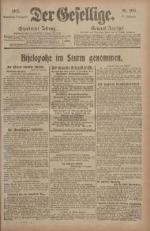 Der Gesellige, Nr. 296, Sonnabend, 18. Dezember 1915