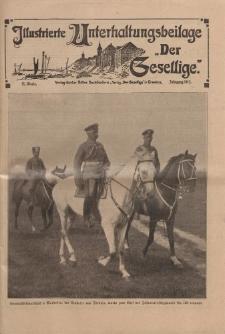 """Illustrierte Unterhaltungsbeilage """"Der Gesellige"""", 51. Woche, Jahrgang 1915"""