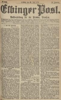 Elbinger Post, Nr.168 Freitag 21 Juli 1876, 3 Jh