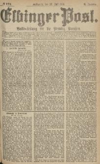 Elbinger Post, Nr.172 Mittwoch 26 Juli 1876, 3 Jh