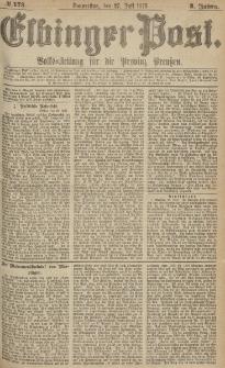 Elbinger Post, Nr.173 Donnerstag 27 Juli 1876, 3 Jh