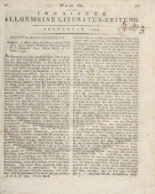 Jenaische Allgemeine Literatur-Zeitung. September - December 1823.