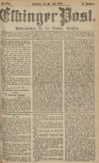 Elbinger Post, Nr.176 Sonntag 30 Juli 1876, 3 Jh