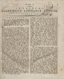 Jenaische Allgemeine Literatur-Zeitung. Januar - April 1826.