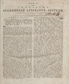 Jenaische Allgemeine Literatur-Zeitung. Januar - April 1829.