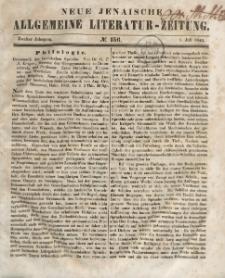 Neue Jenaische Allgemeine Literatur-Zeitung. Juli - December 1843.