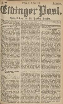 Elbinger Post, Nr.132 Freitag 9 Juni 1876, 3 Jh